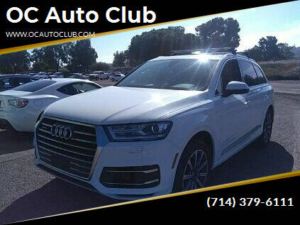 2017 Audi Q7 for sale at OC Auto Club in Midway City CA