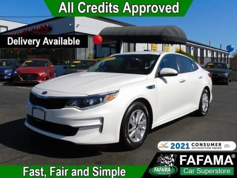 2018 Kia Optima for sale at FAFAMA AUTO SALES Inc in Milford MA