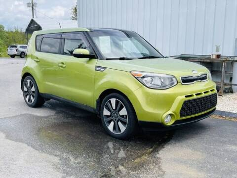 2014 Kia Soul for sale at RUSTY WALLACE CADILLAC GMC KIA in Morristown TN