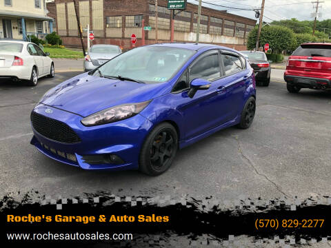 2014 Ford Fiesta for sale at Roche's Garage & Auto Sales in Wilkes-Barre PA
