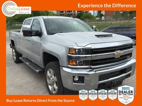 2018 Chevrolet Silverado 2500HD for sale at Dallas Auto Finance in Dallas TX