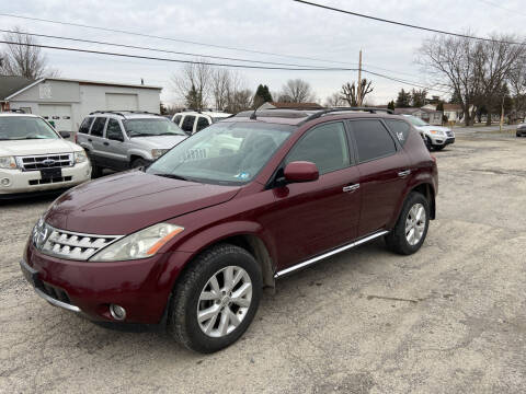 2007 Nissan Murano for sale at US5 Auto Sales in Shippensburg PA