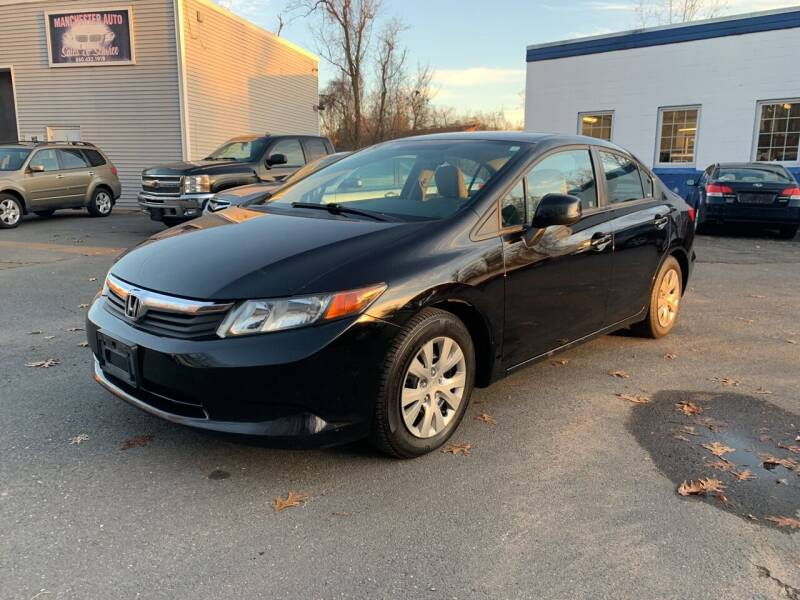 2012 Honda Civic for sale at Manchester Auto Sales in Manchester CT