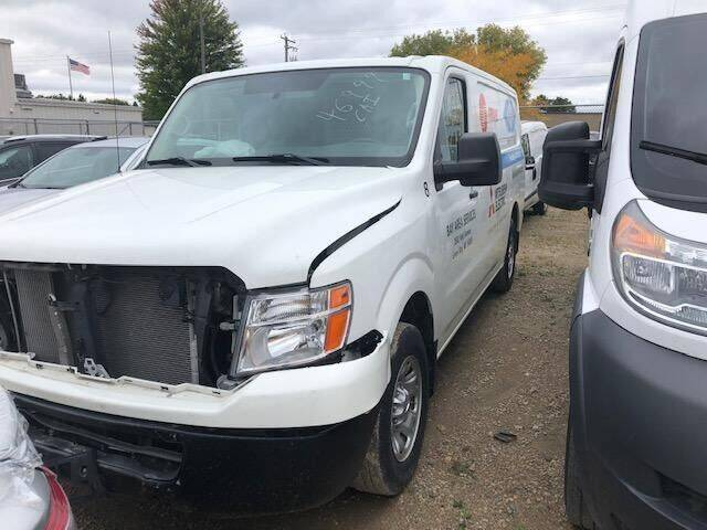 2018 Nissan NV Cargo for sale at CousineauCrashed.com in Weston WI