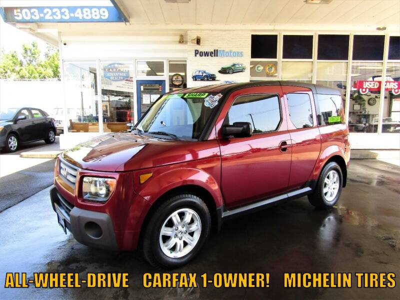 2007 Honda Element for sale at Powell Motors Inc in Portland OR