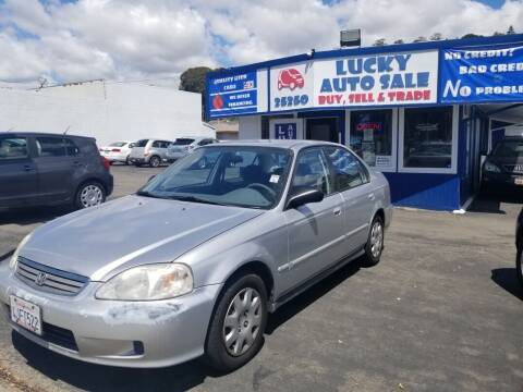 2000 Honda Civic for sale at Lucky Auto Sale in Hayward CA