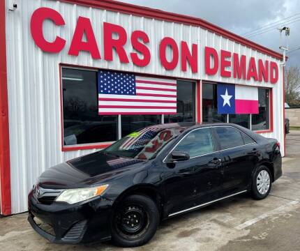 2012 Toyota Camry for sale at Cars On Demand 3 in Pasadena TX