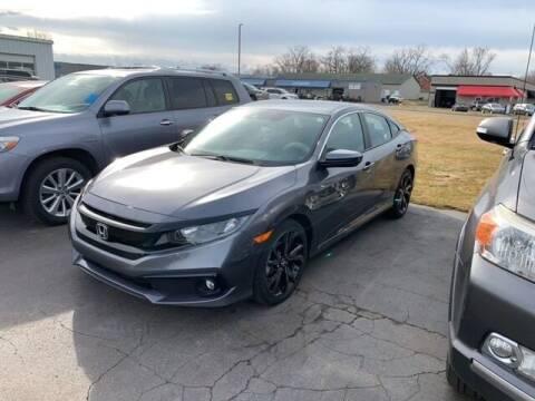 2019 Honda Civic for sale at BORGMAN OF HOLLAND LLC in Holland MI