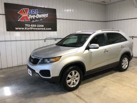 2013 Kia Sorento for sale at Karl Pre-Owned in Glidden IA