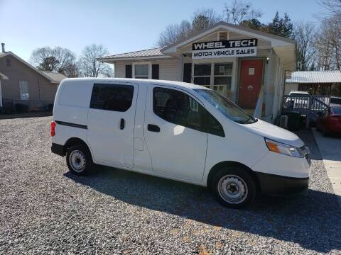 2016 Chevrolet City Express Cargo for sale at Wheel Tech Motor Vehicle Sales in Maylene AL