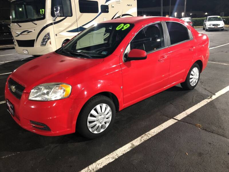 2009 Chevrolet Aveo for sale at Mike's Auto Sales INC in Chesapeake VA