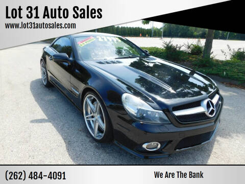 2009 Mercedes-Benz SL-Class for sale at Lot 31 Auto Sales in Kenosha WI
