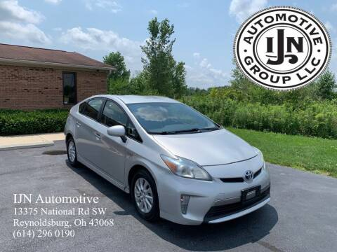 2012 Toyota Prius Plug-in Hybrid for sale at IJN Automotive Group LLC in Reynoldsburg OH