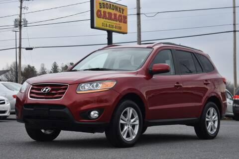 2010 Hyundai Santa Fe for sale at Broadway Garage of Columbia County Inc. in Hudson NY