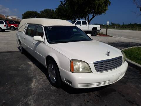 2004 Cadillac Deville Professional for sale at LAND & SEA BROKERS INC in Deerfield FL