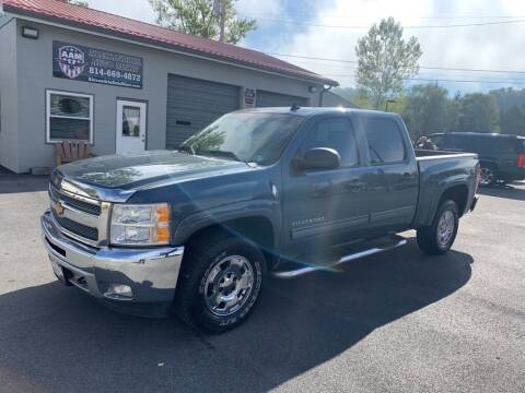 2012 Chevrolet Silverado 1500 for sale at Alexandria Auto Mart LLC in Alexandria PA