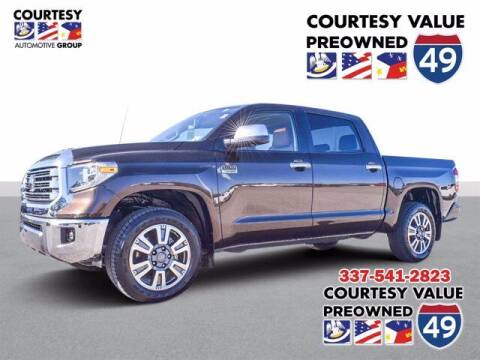 2018 Toyota Tundra for sale at Courtesy Value Pre-Owned I-49 in Lafayette LA