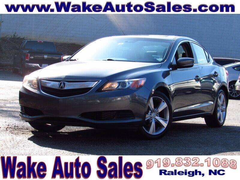 2014 Acura ILX for sale at Wake Auto Sales Inc in Raleigh NC