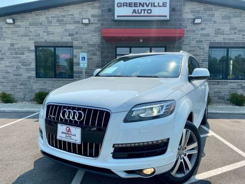 2015 Audi Q7 for sale at GREENVILLE AUTO in Greenville WI