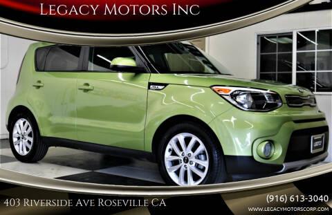 2019 Kia Soul for sale at Legacy Motors Inc in Roseville CA