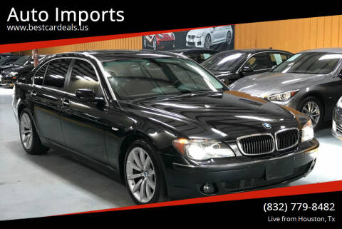 2008 BMW 7 Series for sale at Auto Imports in Houston TX