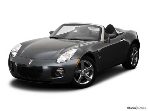 2009 Pontiac Solstice for sale at GRANITE RUN PRE OWNED CAR AND TRUCK OUTLET in Media PA