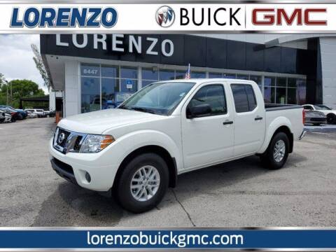 2020 Nissan Frontier for sale at Lorenzo Buick GMC in Miami FL