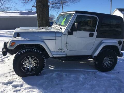 2003 Jeep Wrangler for sale at Antique Motors in Plymouth IN