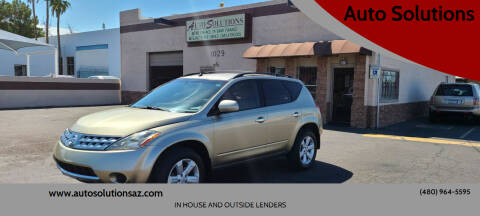 2007 Nissan Murano for sale at Auto Solutions in Mesa AZ