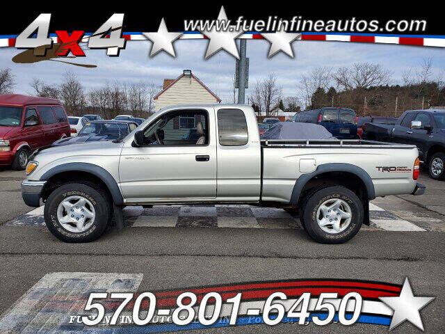 2001 Toyota Tacoma for sale at FUELIN FINE AUTO SALES INC in Saylorsburg PA