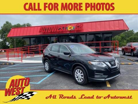 2017 Nissan Rogue for sale at Autowest of GR in Grand Rapids MI
