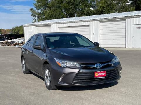 2017 Toyota Camry Hybrid for sale at Rocky Mountain Commercial Trucks in Casper WY