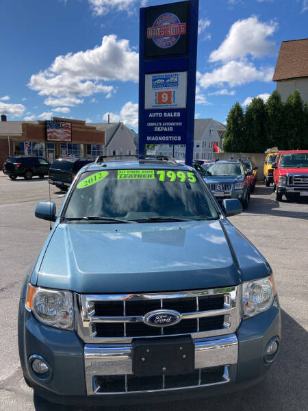 2012 Ford Escape for sale at Ramstroms Service Center in Worcester MA