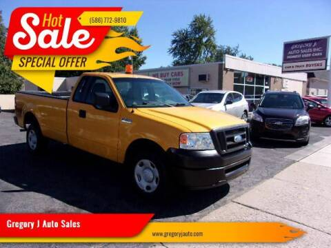 2007 Ford F-150 for sale at Gregory J Auto Sales in Roseville MI