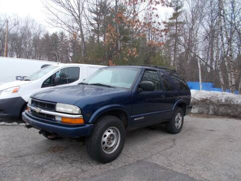 2004 Chevrolet Blazer for sale at Manchester Motorsports in Goffstown NH