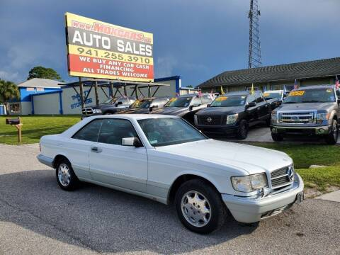 1989 Mercedes-Benz 560-Class for sale at Mox Motors in Port Charlotte FL