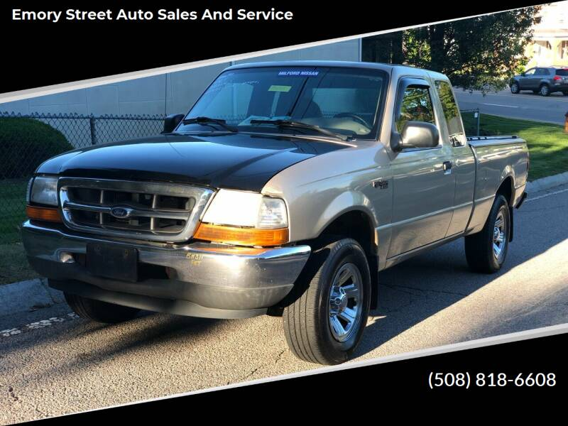2000 Ford Ranger for sale at Emory Street Auto Sales and Service in Attleboro MA