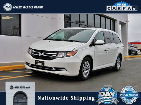 2014 Honda Odyssey for sale at INDY AUTO MAN in Indianapolis IN