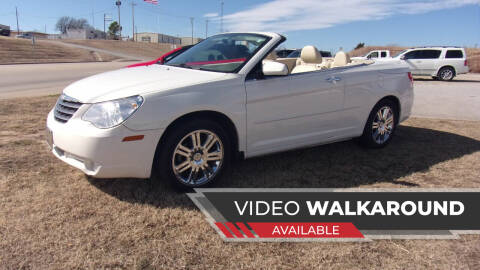 2008 Chrysler Sebring for sale at 6 D's Auto Sales MANNFORD in Mannford OK