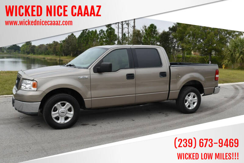 2004 Ford F-150 for sale at WICKED NICE CAAAZ in Cape Coral FL