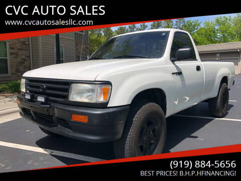 1993 Toyota T100 for sale at CVC AUTO SALES in Durham NC