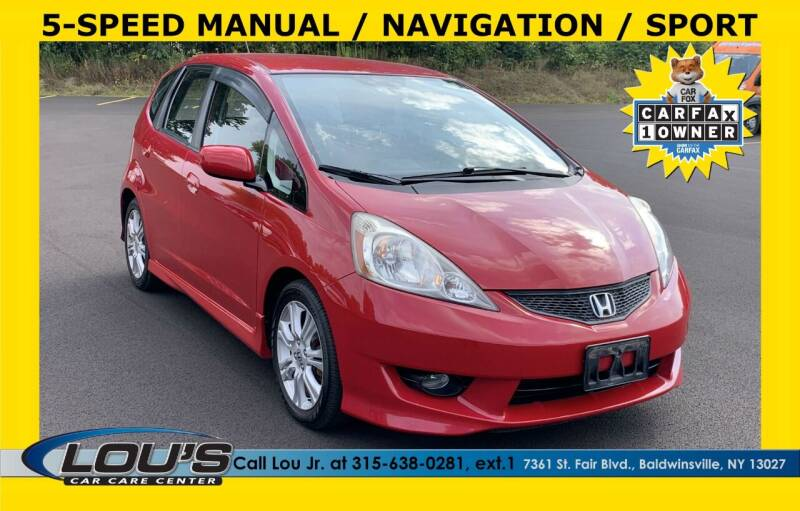 2009 Honda Fit for sale at LOU'S CAR CARE CENTER in Baldwinsville NY