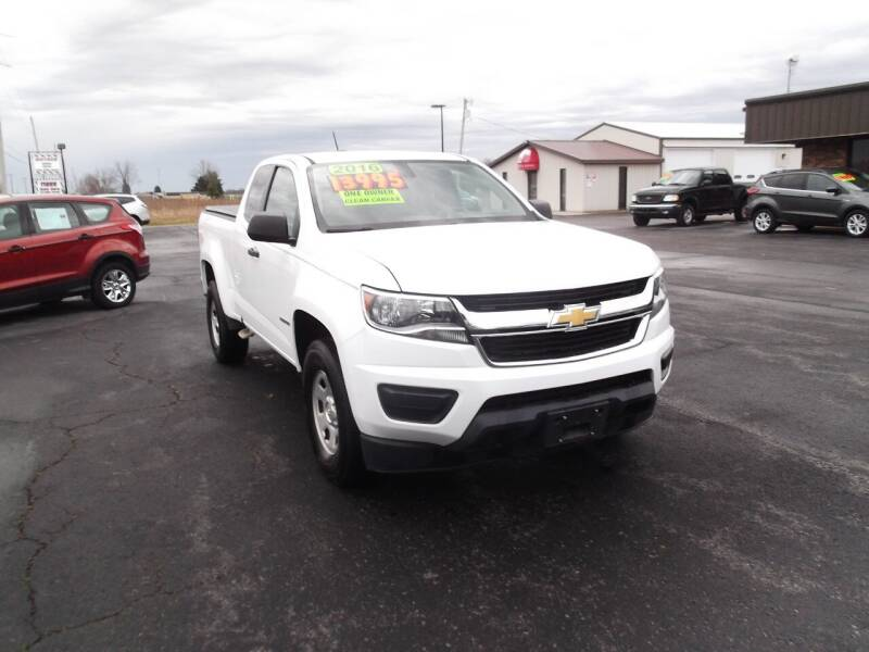 2016 Chevrolet Colorado for sale at Dietsch Sales & Svc Inc in Edgerton OH