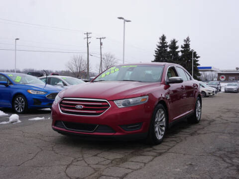 2014 Ford Taurus for sale at FOWLERVILLE FORD in Fowlerville MI