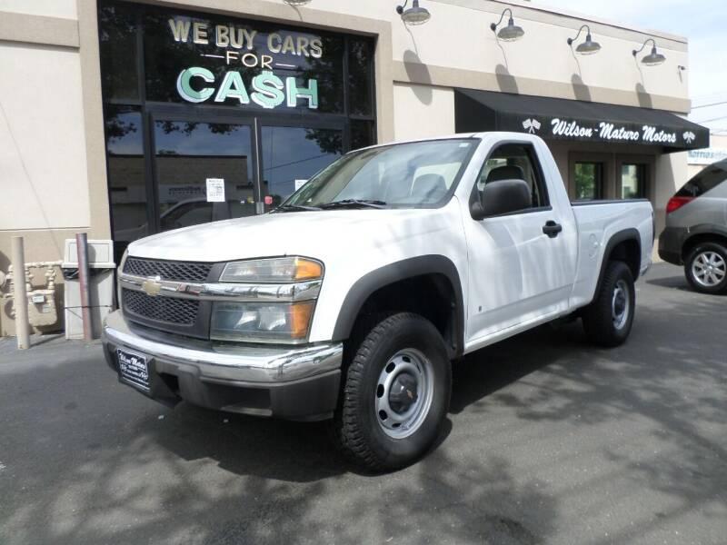 2006 Chevrolet Colorado for sale at Wilson-Maturo Motors in New Haven CT