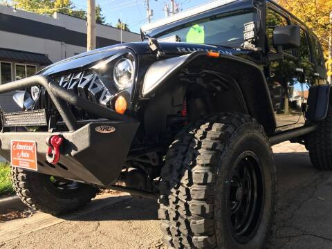 2008 Jeep Wrangler Unlimited for sale at AMERICAN AUTO in Milwaukee WI