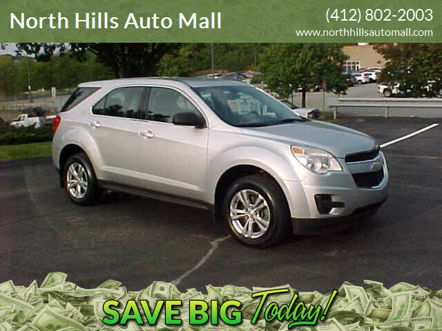 2010 Chevrolet Equinox for sale at North Hills Auto Mall in Pittsburgh PA