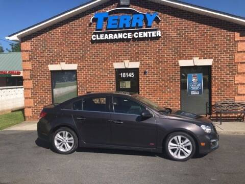 2015 Chevrolet Cruze for sale at Terry Clearance Center in Lynchburg VA