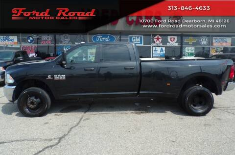 2018 RAM Ram Pickup 3500 for sale at Ford Road Motor Sales in Dearborn MI