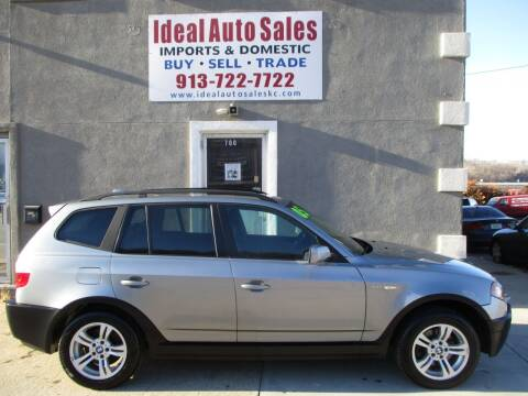 2005 BMW X3 for sale at Ideal Auto in Kansas City KS
